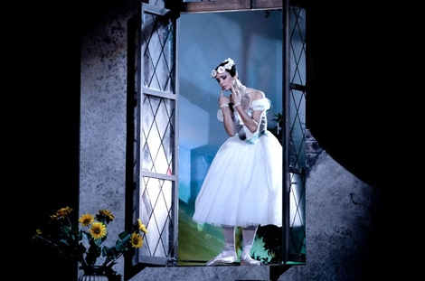 Irina Tsymbal tears of La Sylphide