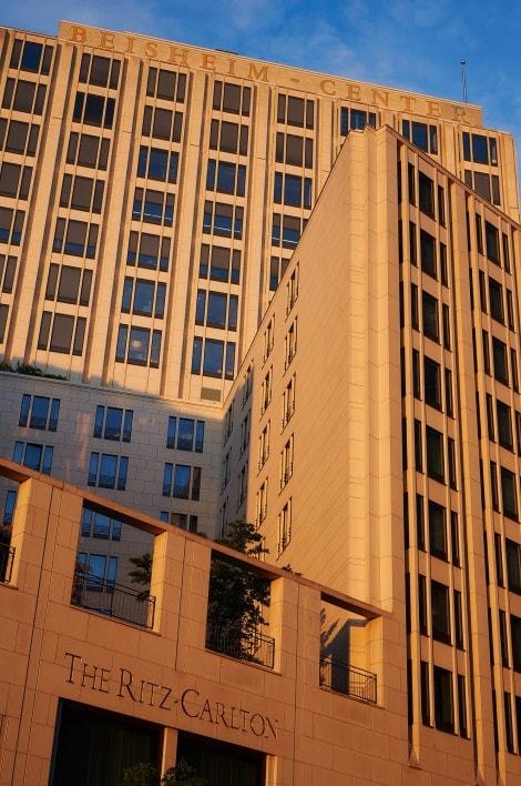 Berlin Ritz Carlton Concrete and Glass