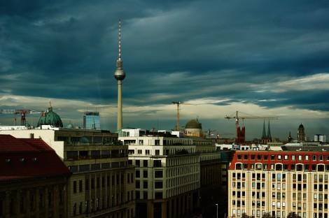 Berlin needle from Gendarmenmarkt