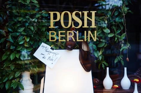 A Shoe Shop Window in Besselstraße