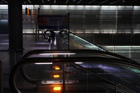 Potzdamer Platz Bahnhof Escalator