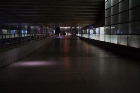 Potzdamer Platz Bahnhof Concrete Passage