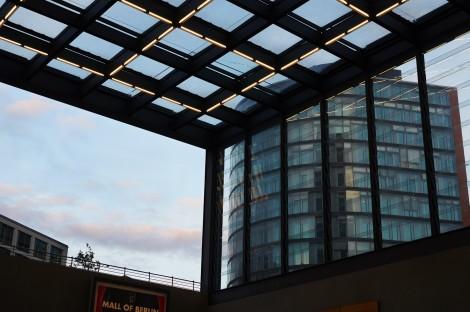 Potzdamer Platz Bahnhof Glass Ceilings