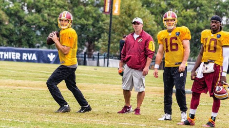 Kirk-Cousins-Colt-McCoy-Robert-Griffin-III-training-camp-2015