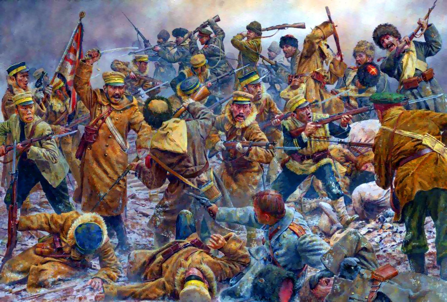 Russia-Japanese-War-in-Manchuria
