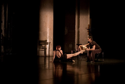 Choreographer Vesna Orlic with Harald Baluch